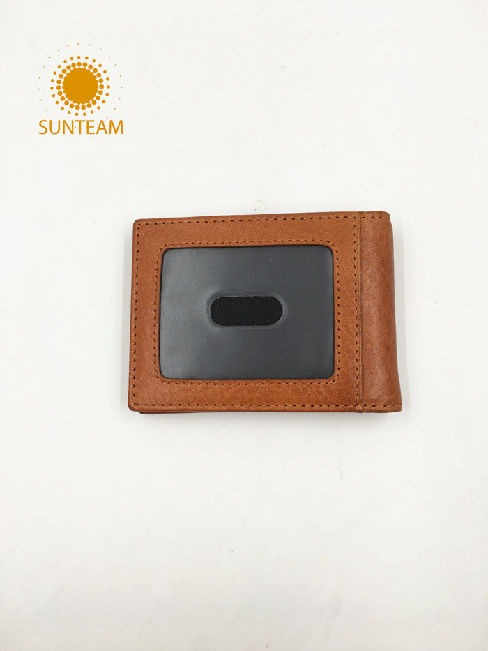 Top brand leather wallet