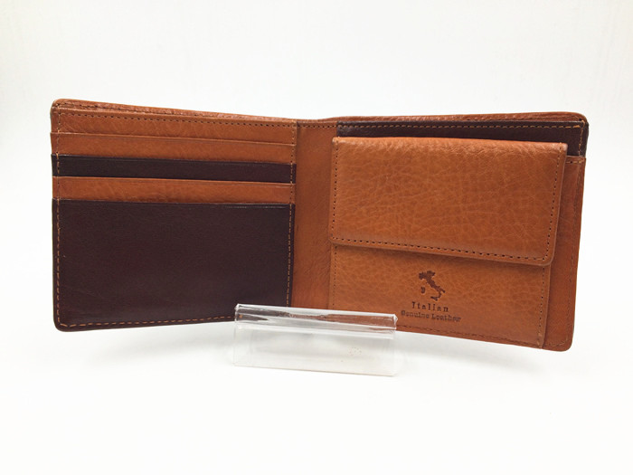 Italy genuine leather wallet manufacturer