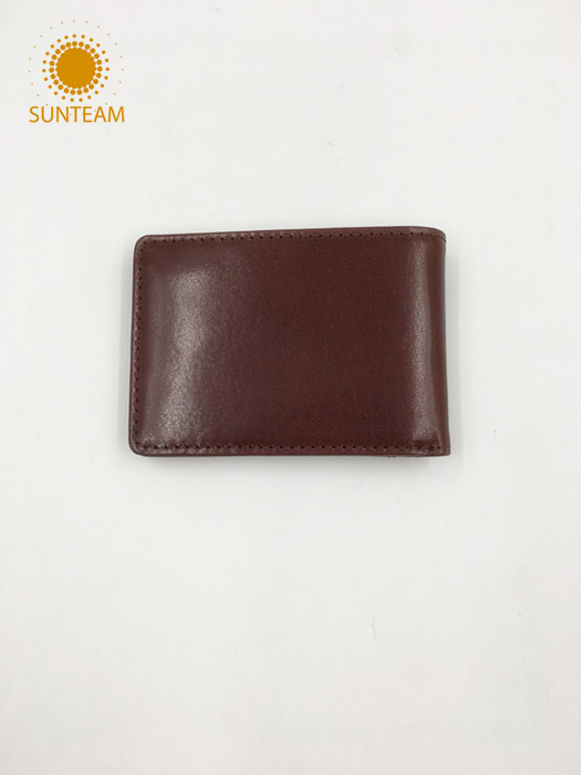 High quality leather wallet manufacturer