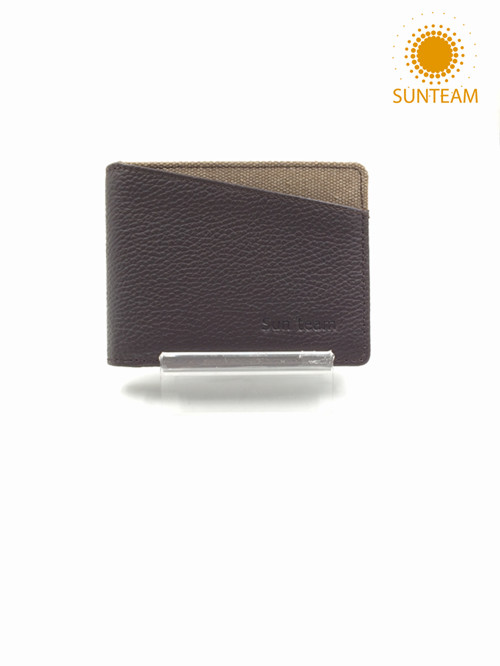wholesale rfid leather wallet factory