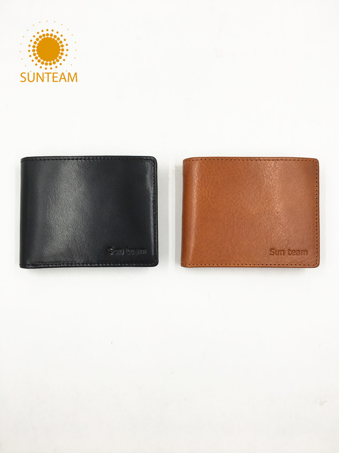 Leather wallet hot sale