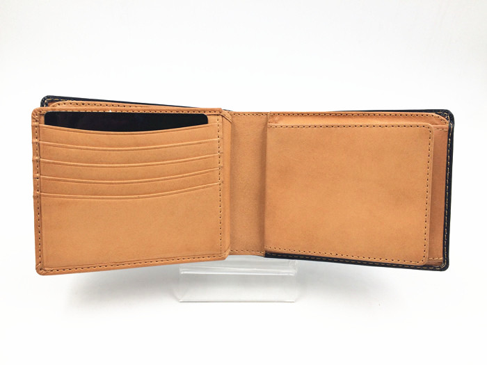 Italy genuine leather man wallet supplier