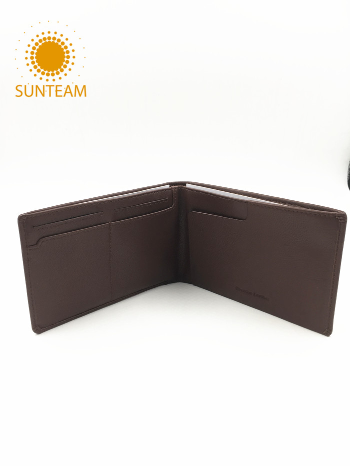 High quality PU wallet Manufacturer