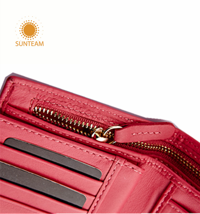 Custome newest woman wallet supplier