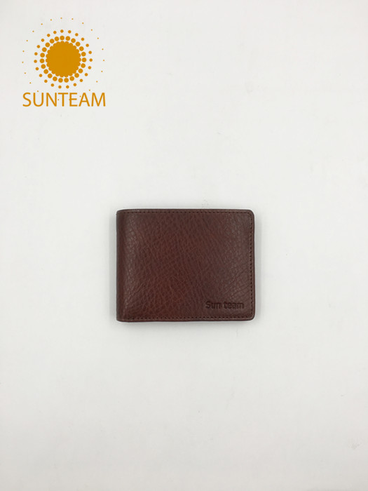 New design leather man wallet