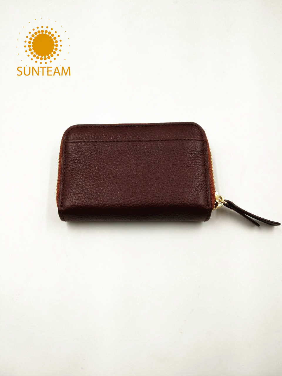 Small thin leather card holder supplier