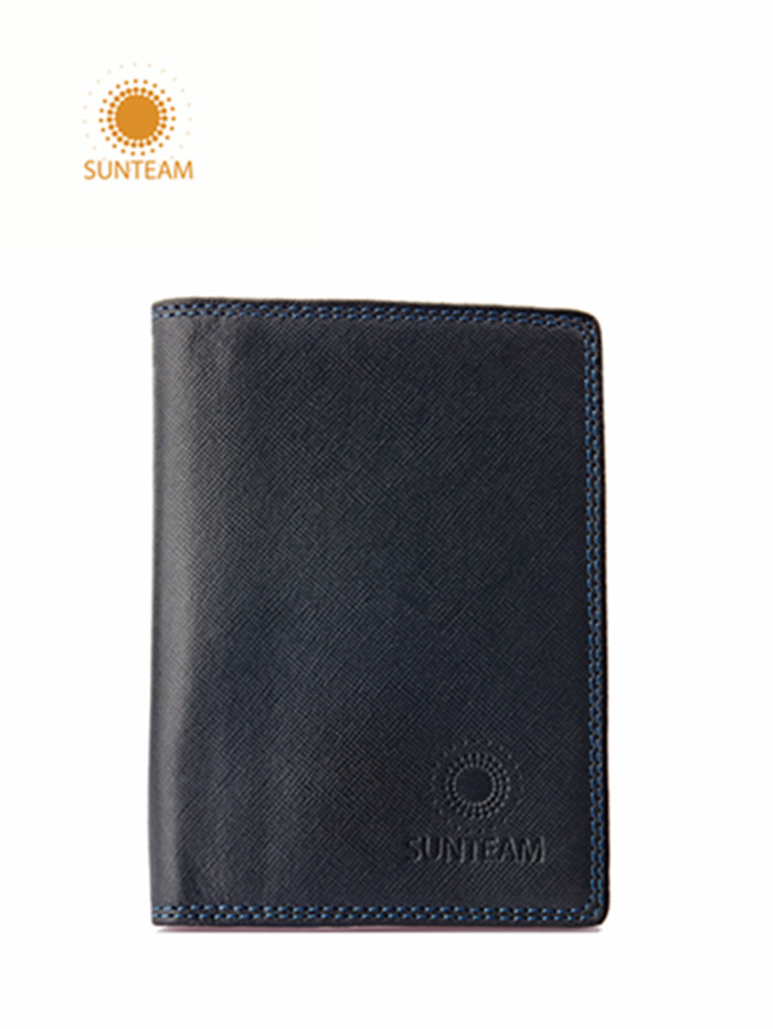 fashionable men's leather wallet manufacturer
