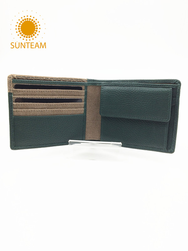 genuine leather man wallet manufactur