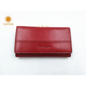 China leather goods manufacturer,china leather wallet women exporter,luxury genuine leather woman wallet factory