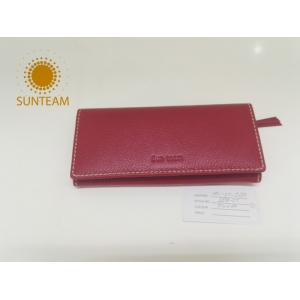 Dents Leather Coin Purse Supplier in China, New-style RFID Slim Wallet Manufacturer, Leather Clutch Organizer Supplier