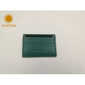 Fancy design leather credit card holder supplier; Chinese Colorful leather credit card holder manuefacturer; bangladesh useful leather credit card holder exporter