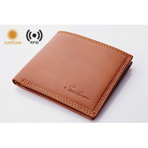 High quality Leather wallet Manufacturer,china factory rfid pu leather wallet for men , china rfid men's wallet suppliers