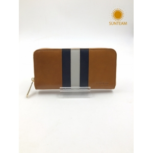 Italian Genuine Leather Pouch Supplier, Bifold Wallet Factory, OEM Genuine Envelope Accordion Wallet