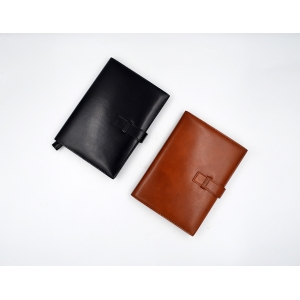 Leather Notebook Cover-Refillable Notebook cover- Notebook cover