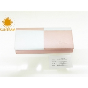 Oem women wallet solution,PU leather women wallet supplier ,High quality geunine leather wallet