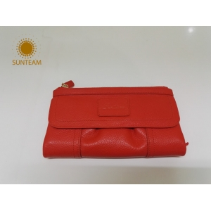 Sunteam OEM RFID Wallet Factory, Fashion Leather Wallet Supplier, Man Genuine Leather Wallet