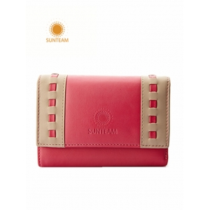 embossed leather wallet factory,top brand china leather wallet,womens durable leather wallet supplier
