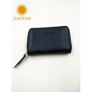 genuine leather travel women wallet,leather walllet in chinese,genuine leather card holder supplier