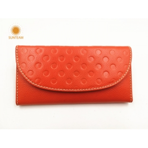 genuine leather women wallet discount,genuine leather card women wallet,long wallet womens china factory