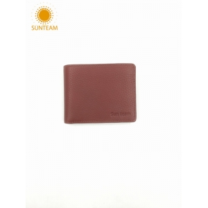 men's slim leather wallet supplier, front pocket leather wallet manufacturers, Money Clip leather wallet supplier