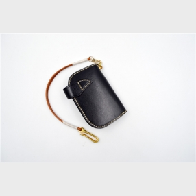 China Fashion key holder manufacturer-Leather key holder-Factory OEM Leather key holder factory