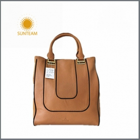 China Fashion leather handbag manufacturer, Genuine leather Women Handbag supplier,Bangladesh  leather lady bags factory factory