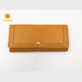 China Genuine leather wallet Online-Handmade Genuine Leather Wallets-woman Genuine Leather Wallet supplier factory