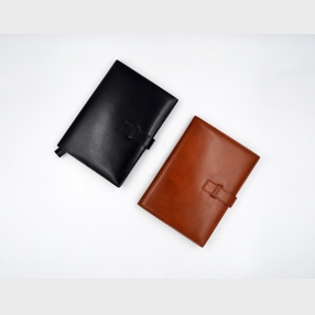 China Leather Notebook Cover-Refillable Notebook cover- Notebook cover factory