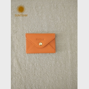 China Professional business card holder supplier, Sun team leather clutch Organizer factory, Sunteam ladies leather wallet factory