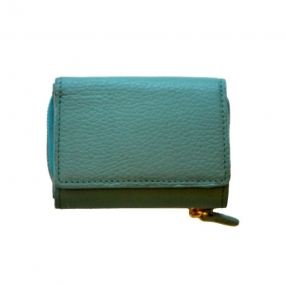 China Small women's wallet in leather-bag factory