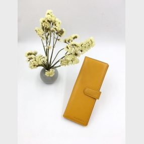 China Yellow long card holder-card holder-woman card holder factory