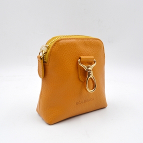China leather small bag-cute leather small bag-genuine leather small coin pouch factory