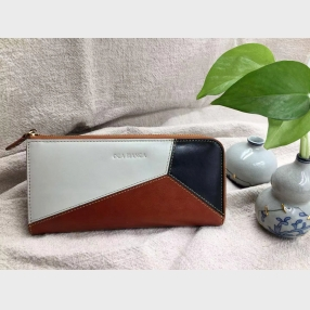 China leather woman wallet-woman long wallet-woman wallet factory