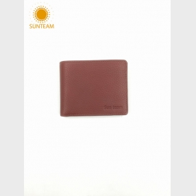 China men's slim leather wallet supplier, front pocket leather wallet manufacturers, Money Clip leather wallet supplier factory