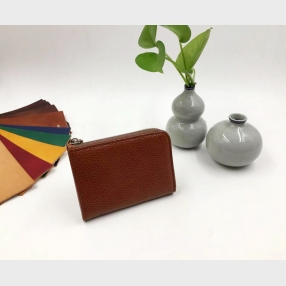 China the ladies purse-personalized card holder-leather minimalist wallet factory